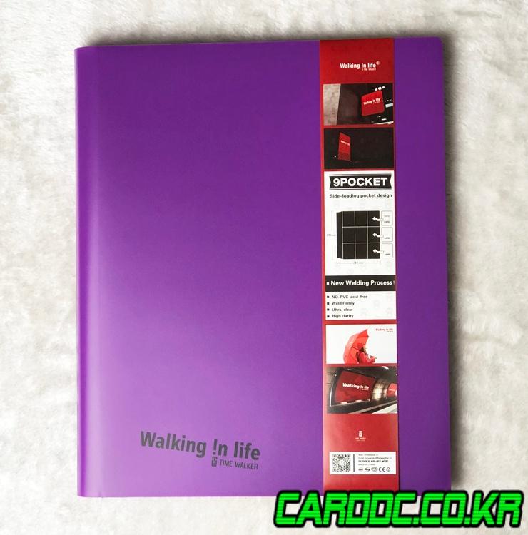 TW타임워커Walking in LifePP퍼플 바인더3x3